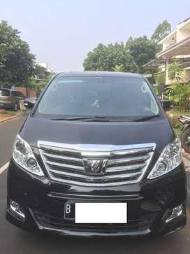 Toyota Alphard Q 3.5 AT 2012 Speaker Berrylyum Cpt Dia Dpt Bagus Bgt