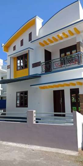 4 cent land with 1500 sqft new house at near kanjoor,airport,aluva