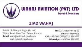 Wahaj Aviation Pvt Ltd,