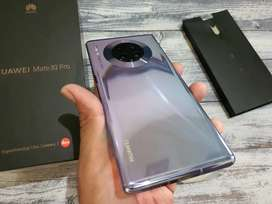 Huawei matte 30 pro resmi indo 8/256gb Fullset mulus bekas siap pakai