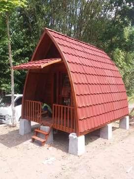 Rumah lumbunh kayu jati Ukuran 3mx5m Lokasi jepara langsung pengrajin