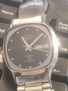 Good working west end Swiss make diamond dial rare squre
