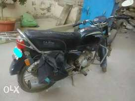 25/12/2004 registration. bike is in runnjng condition.