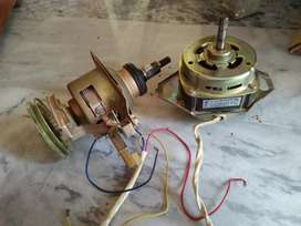 Automatic top load washing machine gear box/clutch and motor