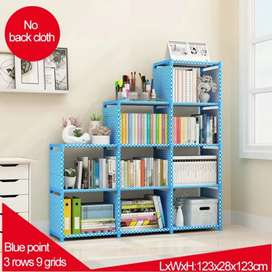 Designed Book shelf rack storage wardrobe to store books
