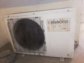 A.C kenwood 1.5 ton in good condition and working fine.