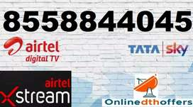 Airtel and Tata Sky New Digital DTH Connections