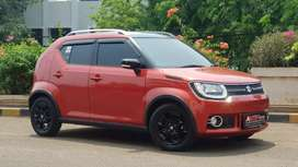 Suzuki Ignis GX AGS AT 2018 Red On Black