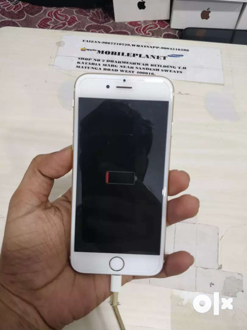 I phone 6 128gb gold color 0