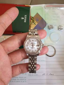 Jam Rolex Mother of Pearl 2003