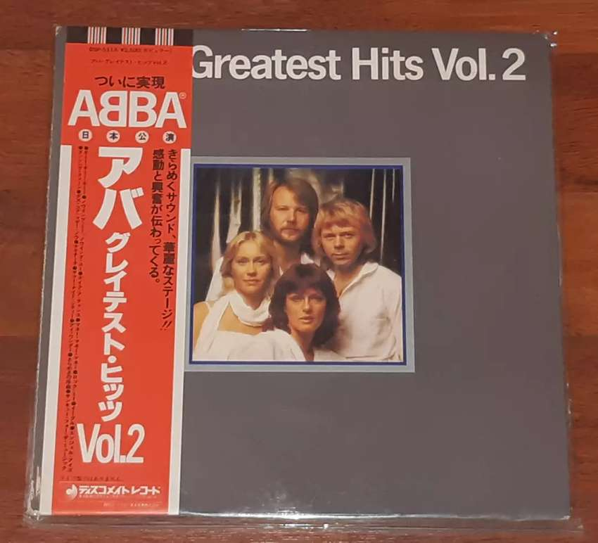 ABBA-The Greatest Hits Vol  2 (Vinyl/Piringan Hitam)Jpn 0