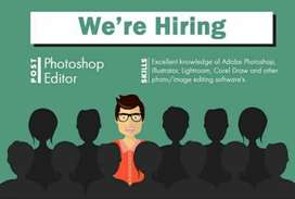 Required Professional Photo editor
