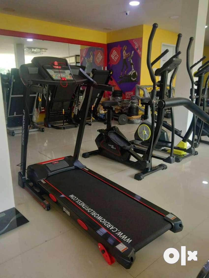 Lose Weight Workout With BT 400 Model Treadmill