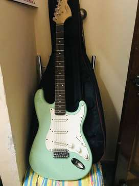 Fender Guitar Electric with Amplifier