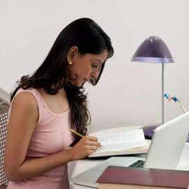 All freshers can apply for home based job writing work part time