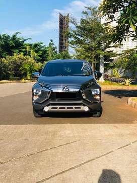 Mitsubishi xpander Tahun 2019 KM 7rb pajak bulan 05/2021 HITAM