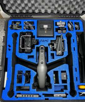 DJI Inspire 2 Ultimate Kit in GoProfessional cases with DJI Battery st