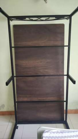 Single iron bed for sale