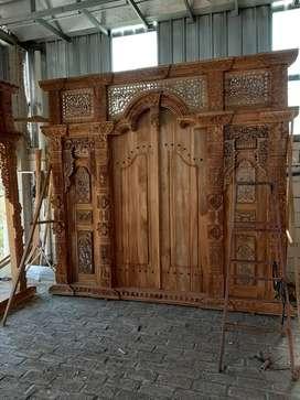 kayla cuci gudang pintu gebyok gapuro jendela rumah masjid musholla