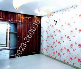 Beautifull Customised 3 Bhk Flat in Gated society under subsidy