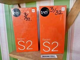 new redmi S2 3/32GB, tam