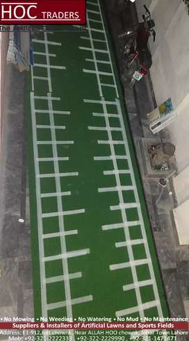 Gym mats, running artificial grass, astro turf
