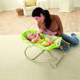Infant To-Toddler Rocker Musical Swinging Bouncer Chair Toddlers Vibra
