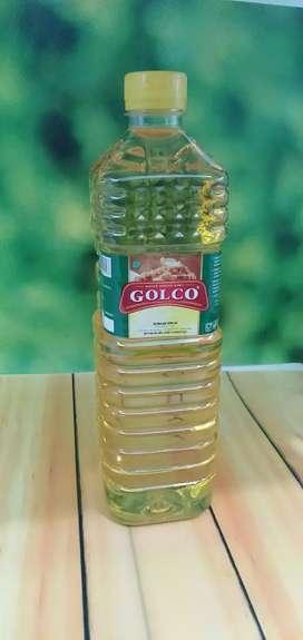 Minyak goreng Golco Botol 1000 ml