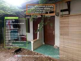 Jual rumah kontrakan 2 pintu dekat MM2100
