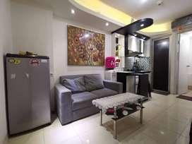 sewa 2 bedroom furnished tower edelweiss bassura city jakarta timur