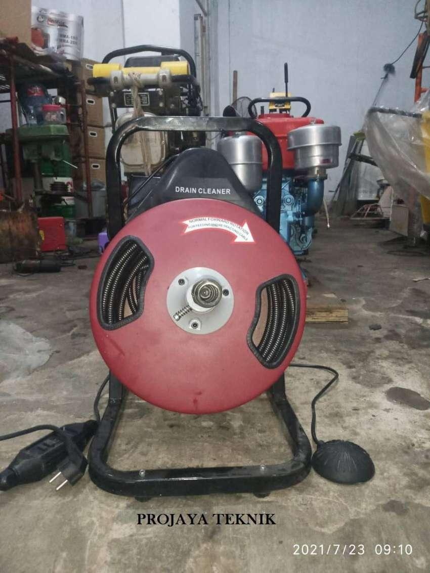 MESIN PEMBERSIH PIPA 15 METER - ELECTRIC DRAIN CLEANER