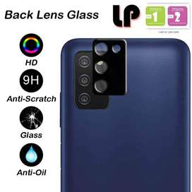 LP Full Camera Ring Tempered Glass Samsung Galaxy A03s