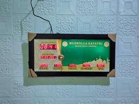 jam masjid setting dengan android