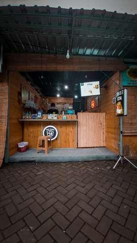 Jual Gerobak/Booth, Coffe Shop, Toast, atau penyetan (FREE ONGKIR)