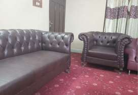 Brand New 5 seater Sofa with center table set