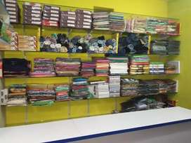 Sell Textile with furniture. Also sell only cloths. Near in Kundapur