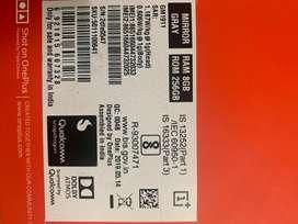 One plus 7 pro 8 gb ram 256 internal 11 months warranty