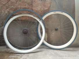 Wheel set Sepeda Fixie United