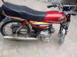 Crown bike full aultor with out body