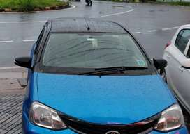 Etios liva dual tone(blue and black) full option