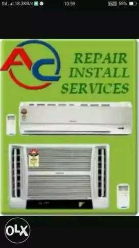 We do Ac  installation reparing servecing