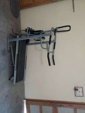 Gray And Black Exercise Equipment