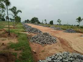 @ 503 Sqyrd Residential land in Srisailam highway Faicng for sale