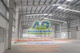 60000 Sq. Ft. Warehouse for Rent in Silvassa