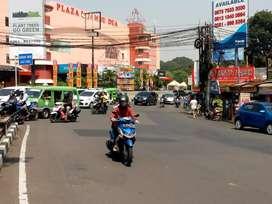Gedung Toko Depan Plaza Jambu Dua Jalan Juanda Dekat Pajajaran Bogor