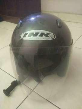 Dijual Helm Ink abu Murah