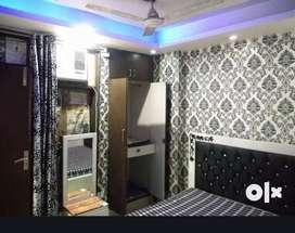Fully furnished 1bhk builder floor
