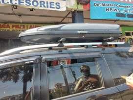 JUAL PASANG ROOFBOX 550L MODEL SLIM BAHAN TEBAL - KWG VARIASI MOBIL