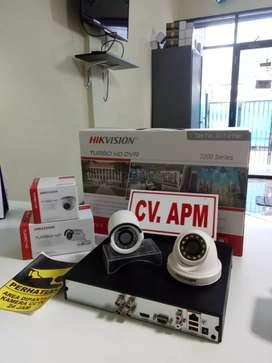 cctv hikvision terbaru paket 4 kamera,4ch,lensa 2MP DI TAMBUN UTARA.