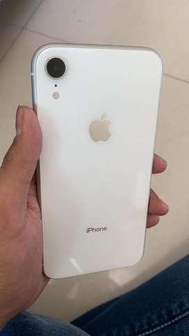 i phone xr 64gb white clr